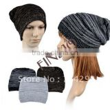 Korea Men's / Women's Unisex Knitting Ski Slouch Hot Oversized Beanie Hat Cap 7674