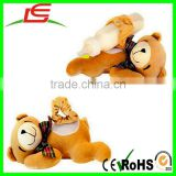 Wholesale Time Helpers Tender Teddy Bear Baby Bottle Snugglers Feeding