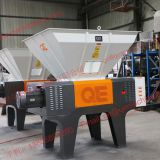 Hard disk IBC recycleing double shaft shredder