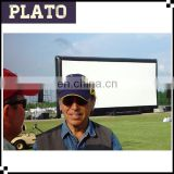 Outdoor giant open air screen inflatable cinema screen for event