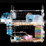 acrylic hamster cage animals transparent clear view larger plastic house acrylic cheap hamster cage