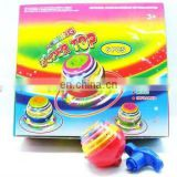 Kids Plastic spinning top toys