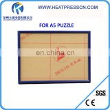 A5 Sublimation Blank Jigsaw Puzzle Frame