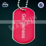 sedex 4p metal girl and animal sex dog tag necklace for kids