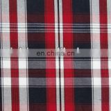 Wholesale fashionable T/C plaid linen woven shirt fabric