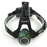 Rechargeable led flashlight Waterproof Headlamp Aluminium 3 Modes Headlamp Outdoor Head light