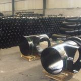 astm asme a234 wpb steel tee seamless butt welded factory