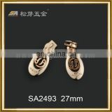 High quality custom zipper pulls locking zipper pull pulls