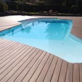 Sunshien WPC solid decking floor decking flooring all over the world hot sale