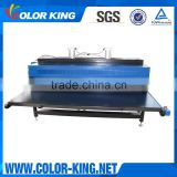 High Pressure double sided Pneumatic large format second hand sublimation heat press machine