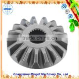 Changzhou Machinery used spline gear pinion /Crown Pinion Gears Ring for concrete mixer & tractor trucks Pinion Gear Ring