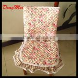 cotton chair cloth flower 100% cotton chair cover hotel chair cover, living room table cover