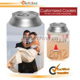 Promotional foldable drink cooler for 330ml can holder
