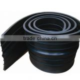 plastic black waterstop used in construction joint / settlement joint in water project, water power engineering , basement