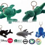 Assorted Stuffed Animals Plush Keychain, Plush Animal Keychain For Promotion