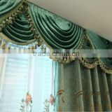 European style electric curtain for hotel project blackout fabric window curtain/ motorized curtain system for hotel