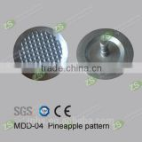 316 / 304 stainless steel tactile tile indicator stud with diamond surface for underground subway