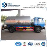 China famous manufacture Dongfeng 10000L LPG gas tank truck for sale