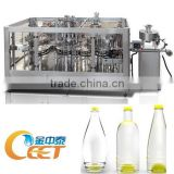 CE Approved 3-in-1 Monobloc Bottle Rinsing Filling Capping Machine / Water Bottling Plant                                                                         Quality Choice