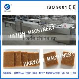 Automatic nut candy bar forming machine, sesame candy bar making machine, peanut crispy machine