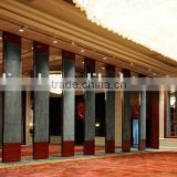 aluminium movable partition wall and soundproof folding partition acoustic movable partition for banquet hall