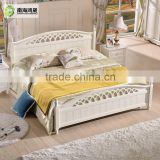 Ivory White Modern Design Wooden MDF Panel Single Bed For Sale