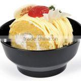 hot selling popular plastic crystal glass sugar 7 oz bowl