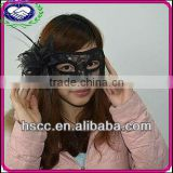 China Manufacturer Masquerade Ball Bulk Black Lack Mask Sexy
