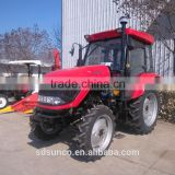 Aircab 55 hp tractor DQ554 , 4 in 1 bucket FEL front end loader TZ06D ,backhoe excavator LW-7 ,CE approved model
