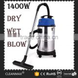 30L wood flooring carpet cleaning machine classical strong suction cyclonic bagless high power wet and dry vacuum cleaner
