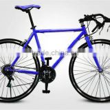 2016 new style 60mm alloy rim colorful road bike/bicycle fixed/fixie gear bike , single gear speed