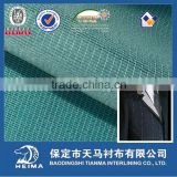 40g weft insert knit woven fusible interlining fabric for jacket, suit, uniform