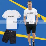 Custom newest design o neck 95% cotton 5% elastane t shirt or wholesaler t-shirt and t-shirt white with low price