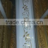 High density polyurehtane decoration products PU ceiling cornice moulding, pu cornice, pu moulding