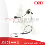 Acoustic military police Equipment over-the-head headset for various brands radios