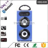 BBQ KBQ-606 10W Guangdong 1200mAh Battery Powered Speakers with LED Horse Race Lamp                                                                         Quality Choice
