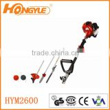 5 IN 1 GARDEN POWER TOOL INCLUDING: HEDGE TRIMMER, STRIMMER, BRUSHCUTTER, CHAINSAW PRUNER & FREE EXTENSION POLE 2-STROKE