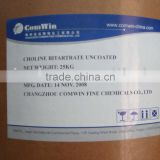 Supply DL-Choline Bitartrate,87-67-2,Food Additive
