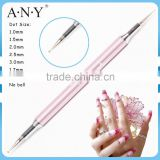 ANY Nail Art Beauty UV Gel Nails Design Single Piece Metal Nail Art Dotting Pen