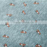 windproof printed polyester fabric with pa coating