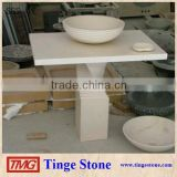 Fancy Bathroom vanity top ,white cultured marble vanity tops                                                                         Quality Choice