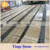 Discount polished beige travertine tile