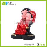 wood Love type base resin crafts figurines for beautiful wedding Inhibition of bacteria in the room