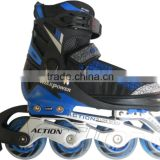 ACTION brand Roller Skates Shoes Flashing Roller PW-132B Inline Skates Wheels PU 64/70/72/76mm Roller Skate Shoes Price