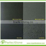 Supply Dark or Light Black Natural Basalt & Lava Stone Widely Used for Outside Building Decoration