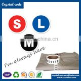 High quality school uniform eco-friendly printing customized garment size label