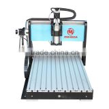 800W Small metal engraving/ milling machine, cnc marble engraving machine, cnc router(4 axis available)