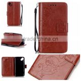 Original flip leather case for Wiko Sunset,back cover with card hold case for Wiko Sunset
