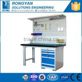 RYWL industrial garage metal workbench worktable drawers