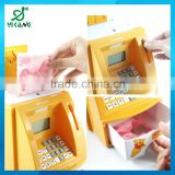 2015 best money box Kids bank ATM machine